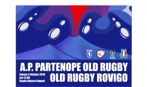 Test Match Partenope Rugby Old VS Old Rugby Rovigo 5 Ottobre 2019