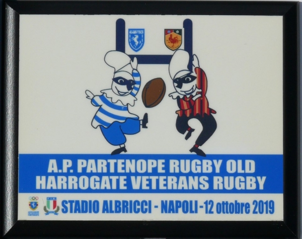 Test Match Partenope Rugby Old VS Harrogate Veterans Rugby Napoli 12 Ottobre 2019